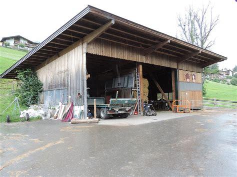 Scheune Pultdach by Landwirtschaft Holzbau Mitterer