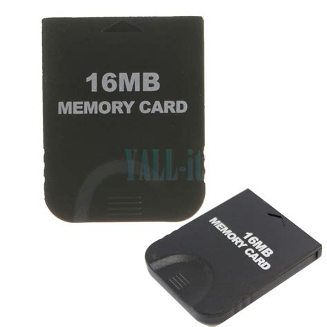 how to make a gamecube memory card black 16mb memory card store card for nintendo gamecube gc