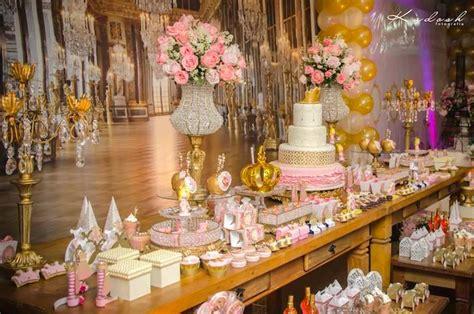 Karas Party  Ee  Ideas Ee   Pink Gold Pri Ess Themed  Ee  Birthday Ee