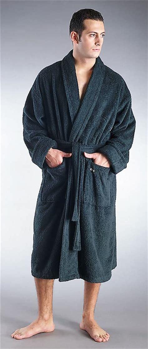 mens turkish terry cotton cloth classic bathrobe ebay