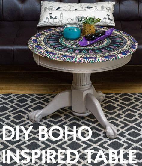 DIY Boho Inspired Table   DIYIdeaCenter.com