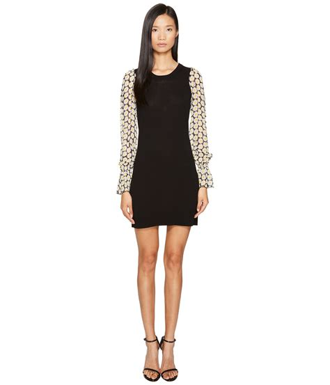 Sleeve Knit Dress moschino sleeve knit dress at zappos