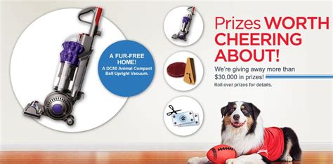Instant Win Prize - purina prize bowl instant win game dyson dog bed cat scratcher free product coupon