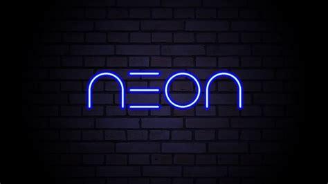 tutorial photoshop neon tutorial photoshop efeito neon no texto youtube