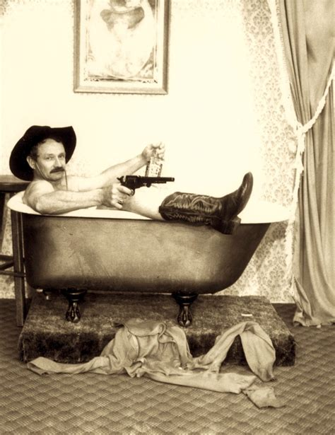 cowboy bathtub a drifting cowboy never miss a chance to tell a good tall