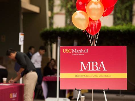 Usc Mba Easier To Get In by 32 Of Southern California Marshall School Of