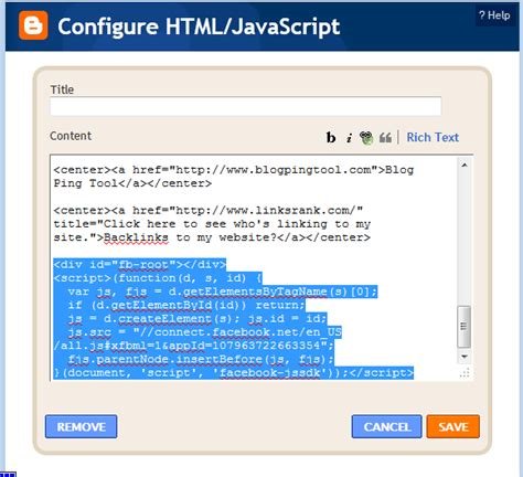 how to make a comment section in html how to put facebook comment box on your blog blogmytuts