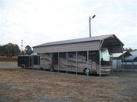 Rv Car Port by Metal Rv Carports Oregon Or Motor Home Covers Oregon Or