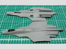 Chinese J-15 with Flight Deck - Trumpeter - 1/72 J 15