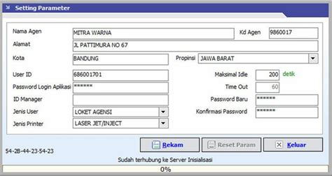 cek resi fif setting parameter