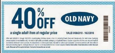 old navy coupons slickdeals old navy coupons