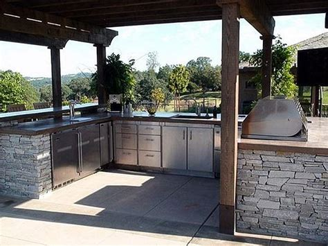 outdoor kitchen layouts samples ideas landscaping