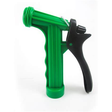 Best Seller Hose Nozzle With Adaptor Pistol Semprotan Adaptor 1 car wash nozzle hose watering spray garden water gun sprayer lever pistol grip ebay