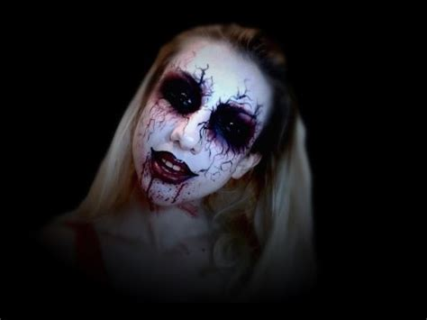 demon girl sfx makeup tutorial youtube