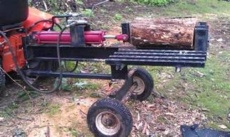building my log splitter log colt and ingersoll tractors view topic building