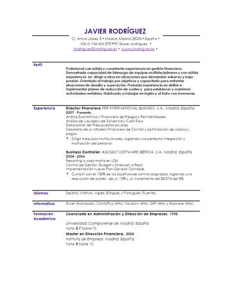 Modelo De Curriculum Vitae Ya Hecho Ejemplos De Curriculum Car Interior Design