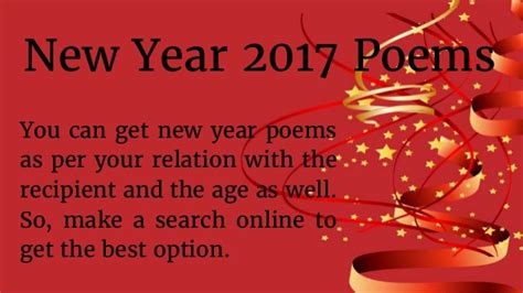 new year animal poems happy new year poems 2017