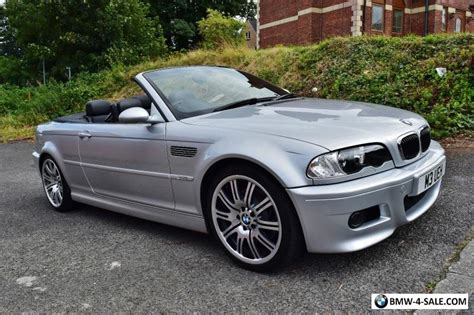 Bmw M3 2003 For Sale by 2003 Sports Convertible M3 For Sale In United Kingdom