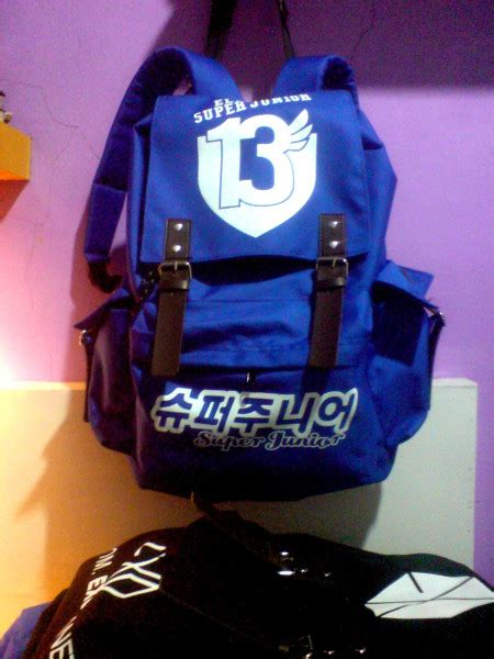 Tas Backpack Kpop Exo Planet tas ransel kpop junior multifungsi surya mode