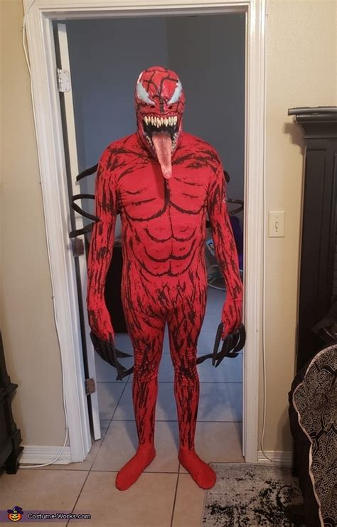carnage adult costume