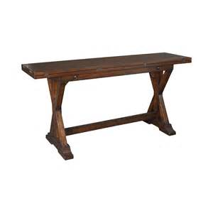 Flip Top Console Table Hammary Treasures Flip Top Console Table Beyond Stores