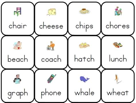 printable games for digraphs 21 best consonant blends diagraphs images on pinterest