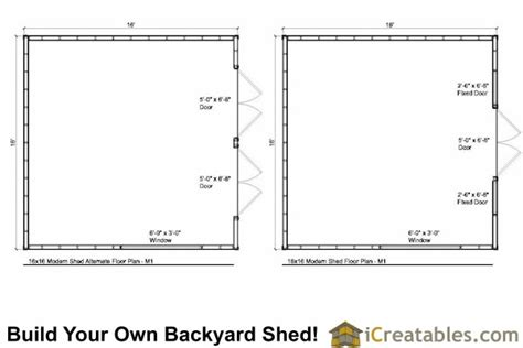 16x16 Shed Plans Free by Information Modern Shed Plans Info Roft