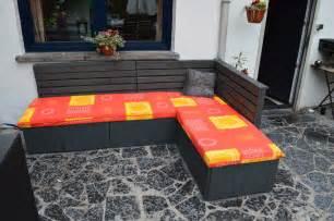 mobilier de jardin avec des palettes galerie avec salon de
