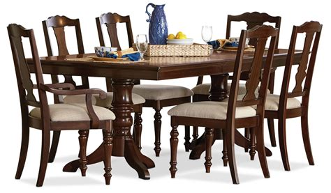 Leons Dining Room Sets by 7 Dining Room Set Cherry S