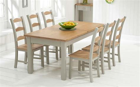 painted kitchen table and chairs how and why to oak dining table and chairs blogbeen