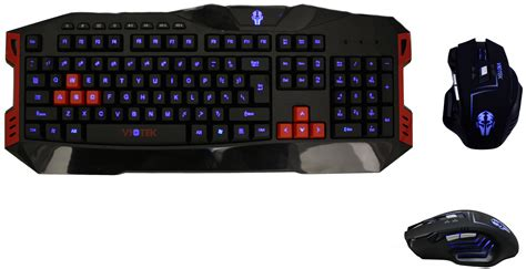 Keyboard And Mouse Gaming Viotek Twilight Backlit Gaming Multimedia Usb