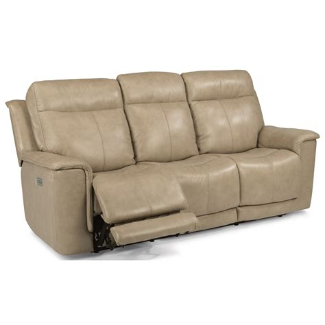 flexsteel power reclining sofa flexsteel latitudes miller 1729 62ph power reclining