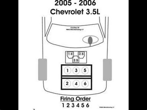 replacing chevy uplander spark plugs 3.5l 3.9l v6