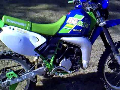 kawasaki kdx 125 supermoto part 1 | doovi