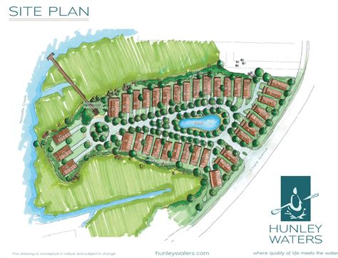 neighborhood plans neighborhood lots hunley waters sustainable green