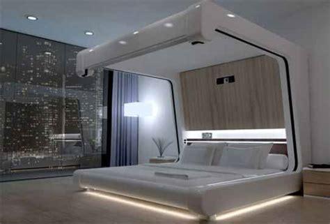 cinema bed model tempat tidur unik  menonton film