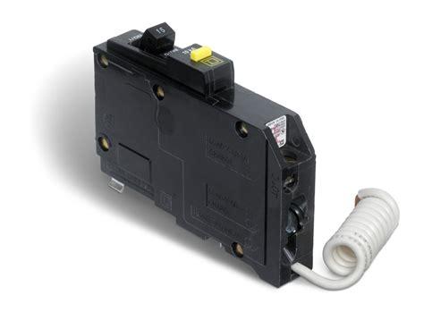schneider electric square  single pole  amp qo gfci