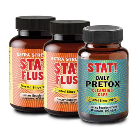 Stat Detox Pills by Stat Flush Reviews Are They Accurate In My Pocket