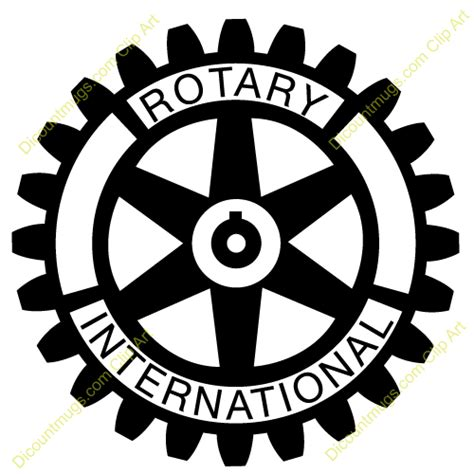 Ceramic Coffee Mugs by Clipart 12155 Rotary International Rotary International