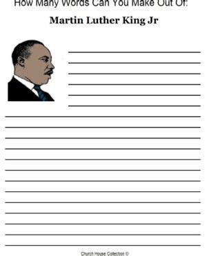 Martin Luther King Jr Math Worksheets by King Jr Activity Sheet For Sheets Martin Luther Martin
