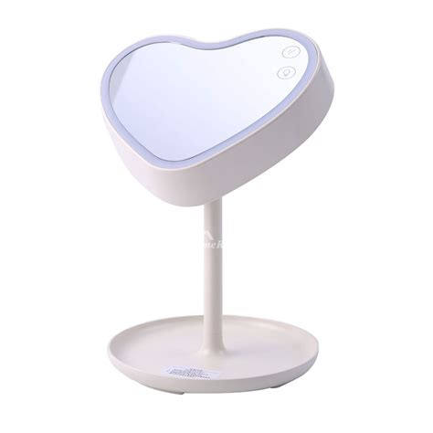 white mirror with lights white makeup mirror with lights led folding free