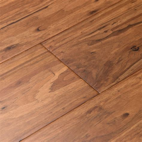 shop cali bamboo fossilized 5 in mocha eucalyptus solid hardwood flooring 27 3 sq ft at lowes com