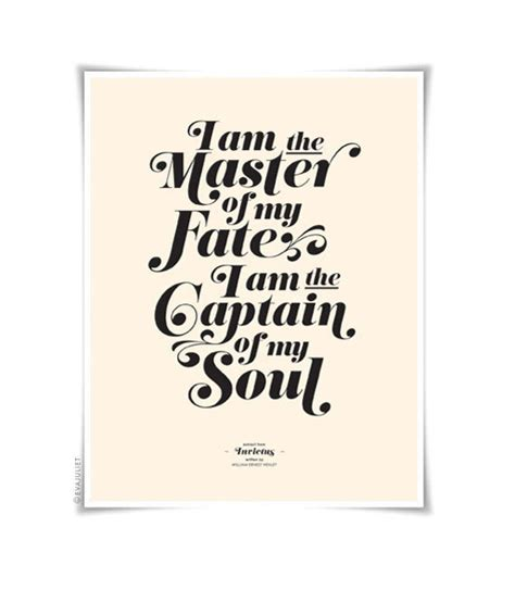 printable version of invictus invictus on cream typography art print 8 5 x 11 in french