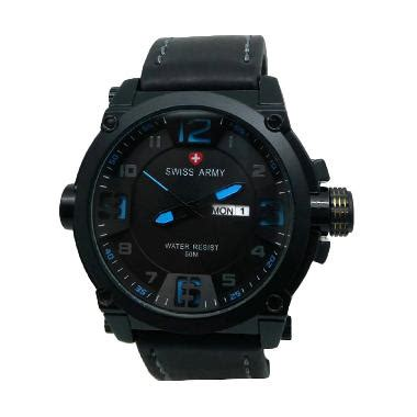 Jam Tangan Swiss Army 1128 Black swiss army blibli