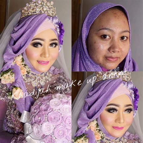 Make Up Khadijahazzahra sentuhan mekap wanita ini mu mengubah wajah