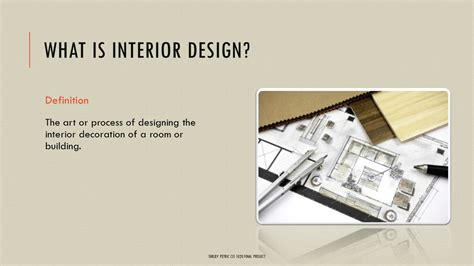 interior design basics ppt