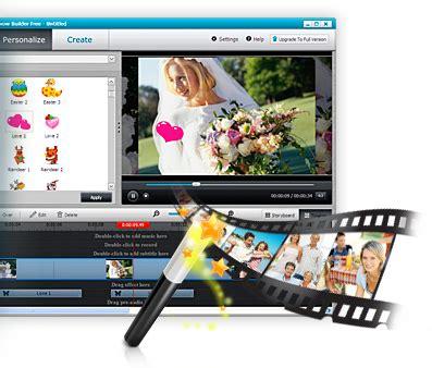 Photo Slideshow Maker Deluxe For Windows wondershare dvd slideshow builder deluxe 6 1 7 53