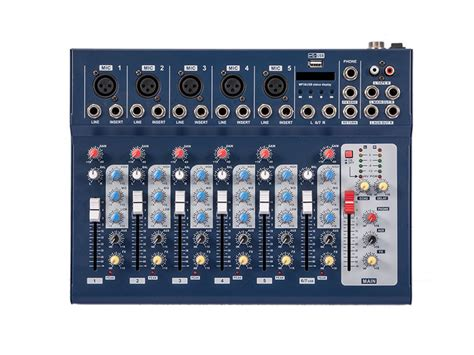mini console dj f7 audio mixer mini sound dj mixing console for home