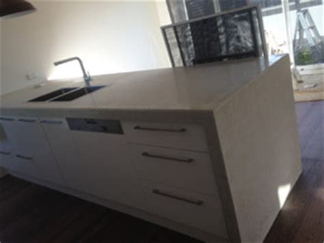concrete bench tops concrete benchtops for the kitchen bathroom and outside