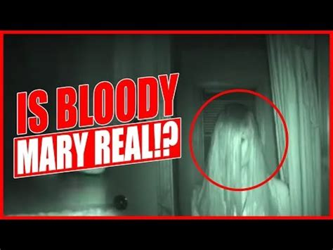 bloody mary in the bathroom mirror is bloody mary real youtube